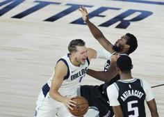 Za Dallas Maverick in Luko Dončića se je košarkarska sezona končala
