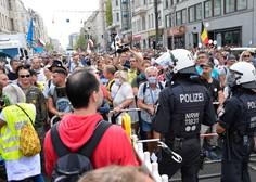V Berlinu spet protestirali proti omejevalnim protikoronskim ukrepom