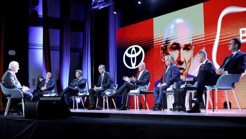 15. Blejski strateški forum kljub pandemiji postregel z najvišjo udeležbo doslej (foto: Daniel Novakovič/STA)
