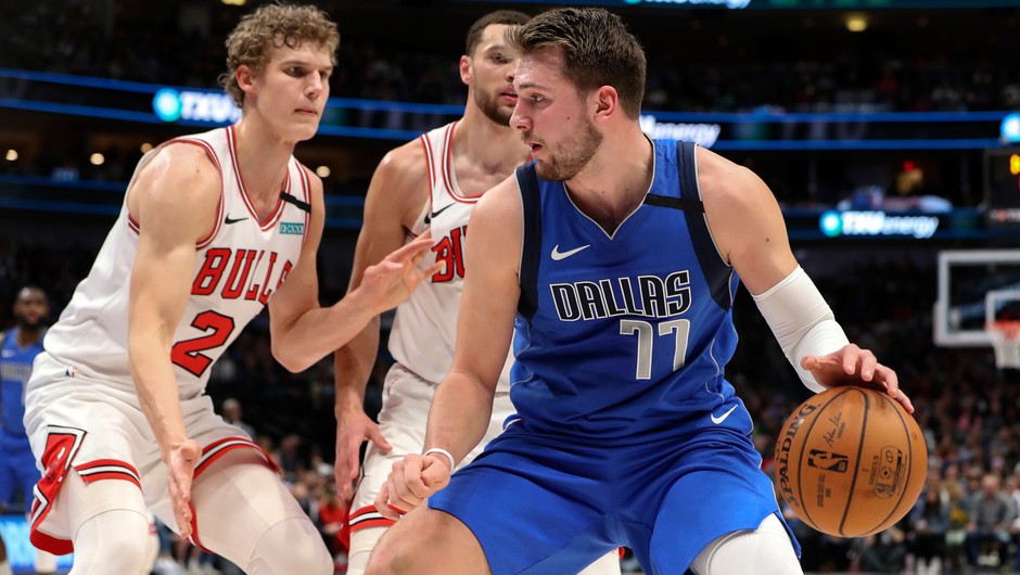 Luka Dončić: Moj cilj je naslov prvaka NBA in tako bo tudi v novi sezoni (foto: Profimedia)