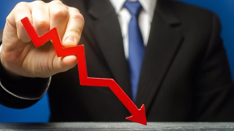 BDP v drugem četrtletju s 13-odstotnim padcem (foto: Profimedia)