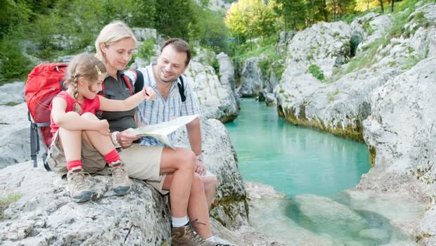 V Posočju slovenskih turistov štirikrat več kot lani, Nemci edini tujci, ki jih je toliko, kot lani (foto: Shutterstock)