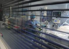 »Začelo se je s čisto povprečnim prehladom,« strokovni direktor Ginekološke klinike o tem, kako je končal na respiratorju