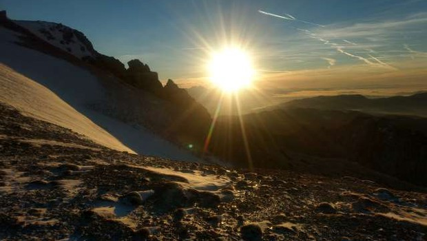 Zaradi globalnega segrevanja visokogorje vse bolj nevarno za obiskovalce (foto: Aljoša Rehar/STA)