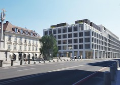 Projekt Šumi v centru Ljubljane dobiva podobo, cena stanovanj tudi do 1,2 milijona evrov
