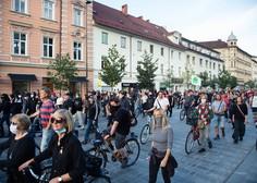 20. petkov protest v Ljubljani tudi za spodbudo žvižgačem