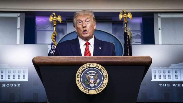 Trump je odkril emotikone na Twitterju (nekateri pa v tem vidijo slabo znamenje) (foto: profimedia)