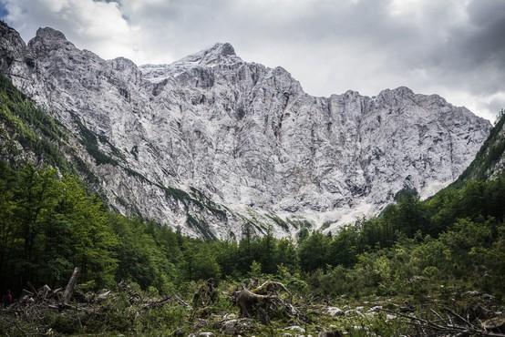 Avstrijski kancler Kurz in premier Janša bosta jutri plezala v severni steni Triglava