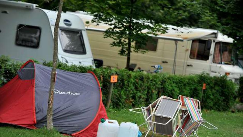 Načrtovani kamp ob sotočju Save Bohinjke in Save Dolinke zbuja pomisleke (foto: Tamino Petelinšek/STA)