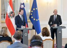Janša in Kurz za usklajen pristop v boju proti koronavirusu in nezakonitim migracijam