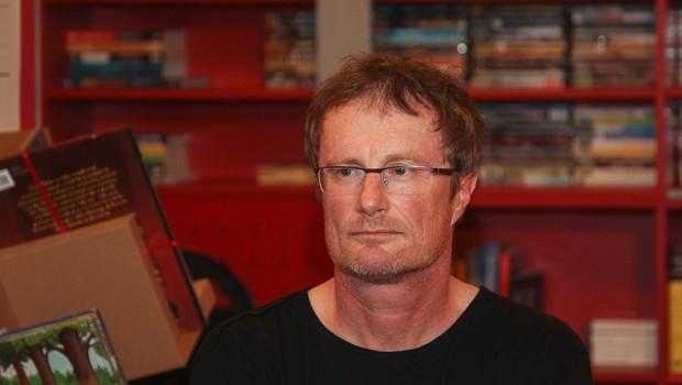Pisatelj Tadej Golob kmalu s svojim prvim intervjujem po nesreči (foto: Profimedia)
