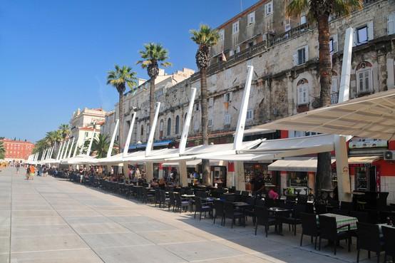 Protest hrvaških gostincev v Istri in na Kvarnerju