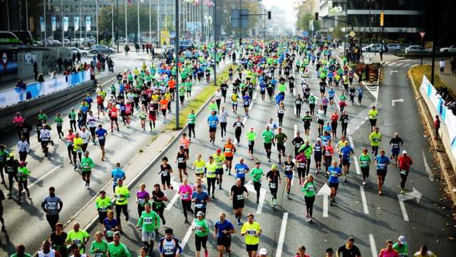 Ljubljanski maraton bo, a omejen in brez tekmovalnega utripa (foto: STA/Daniel Novakovič)