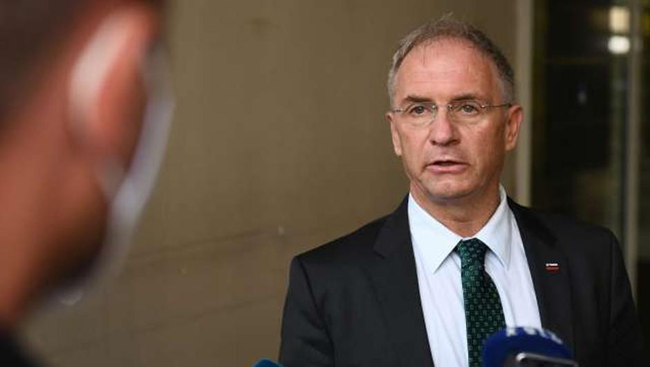 Kazenska ovadba zoper ministra Aleša Hojsa (foto: STA/Tamino Petelinšek)