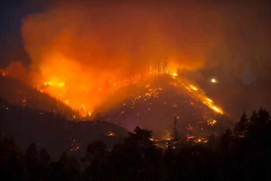 Ognjeni pekel, kakršnega na severozahodu ZDA ne pomnijo