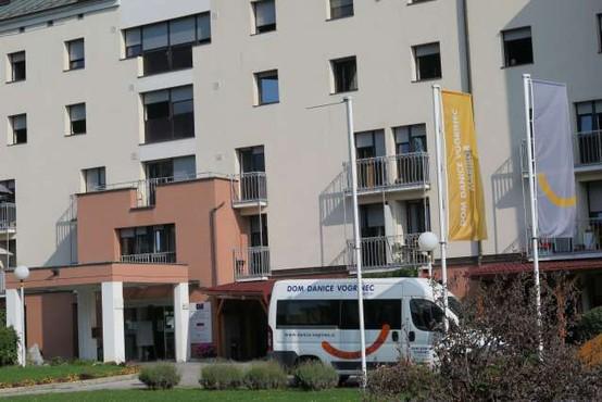 V enoti Doma Danice Vogrinec Maribor nov skokovit porast okužb