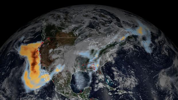 Požari na severozahodu ZDA uničili že 1,6 milijona hektarjev površin in zahtevali 35 življenj (foto: Profimedia)