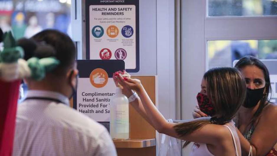Odziv na pandemijo koronavirusa oslabil podobo ZDA v svetu (foto: Xinhua/STA)