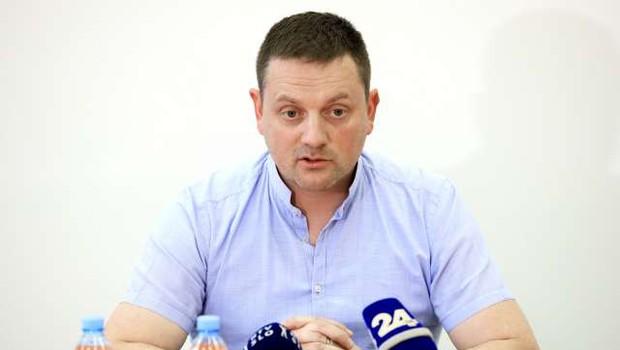Svet Policijskega sindikata Slovenije se je preoblikoval v stavkovni odbor (foto: Daniel Novakovič/STA)