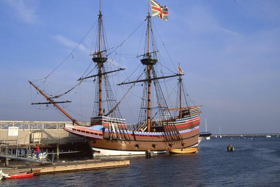 Velika Britanija zaznamuje 400. obletnico izplutja ladje Mayflower