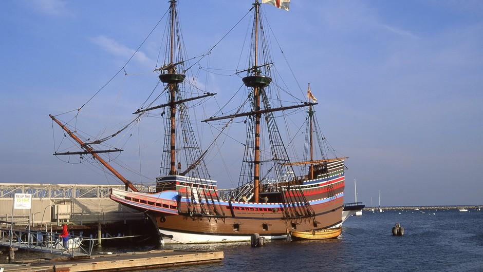 Velika Britanija zaznamuje 400. obletnico izplutja ladje Mayflower (foto: Profimedia)