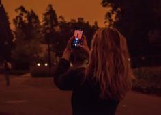 Vse za fotografijo – plaz kritik za vplivnico, ki je požare v Ameriki izkoristila za fotografsko kuliso