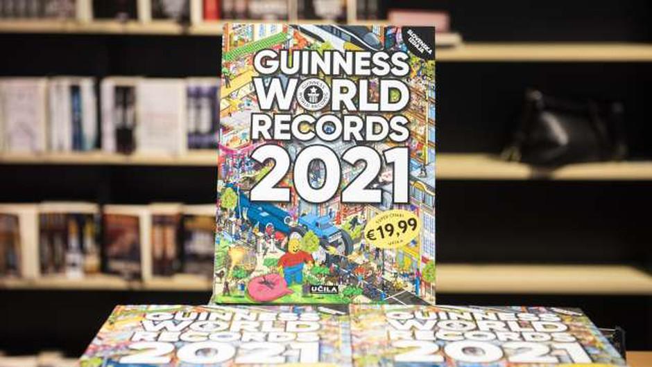 V novi Guinnessovi knjigi rekordov 18 slovenskih (foto: Bor Slana/STA)