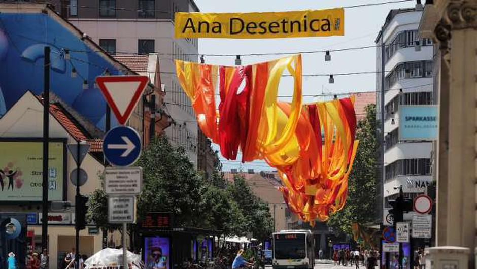 S spektaklom Reka sedmerih imen se začenja drugi del festivala Ana Desetnica (foto: Daniel Novakovič/STA)