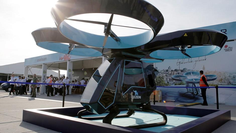 VIDEO: Turčija uspešno testirala prvi leteči avtomobil Cezeri (foto: profimedia)