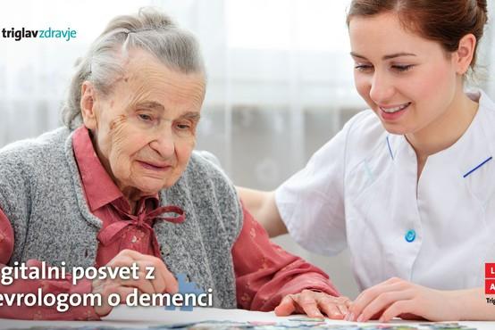 Digitalni posvet z nevrologom dr. Zvezdanom Pirtoškom o demenci