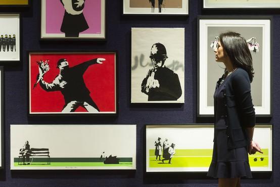 Britanski ulični umetnik Banksy izgubil tožbo zaradi svoje anonimnosti