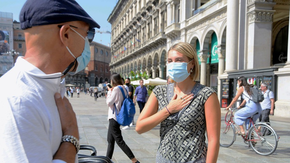 Francija, Italija in Španija se soočajo s porastom okužb (foto: profimedia)