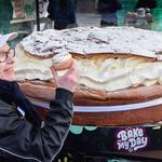 Največja kremna pita (Švedska) (foto: profimedia)