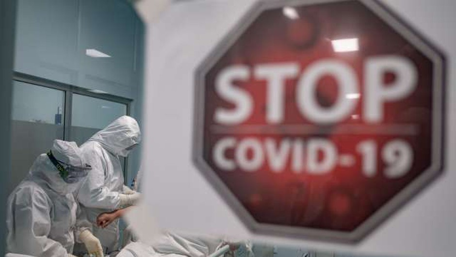 Od ponedeljka za 30 dni v Sloveniji razglašena epidemija, ukrepi zaenkrat kot doslej (foto: Xinhua/STA)