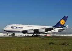 Lufthansa v še bolj drastične ukrepe od prvotno zastavljenih