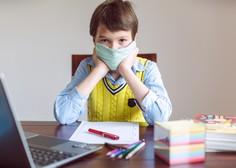 V OŠ Franceta Bevka zaradi okužb za učence četrtega razreda in predmetne stopnje pouk poteka na daljavo