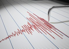 Šibek potresni sunek v bližini Šmarjeških Toplic