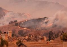 V Kaliforniji divja pet največjih požarov v zgodovini države