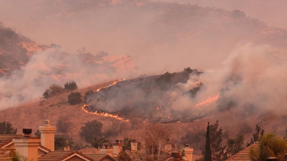 V Kaliforniji divja pet največjih požarov v zgodovini države (foto: Shutterstock)