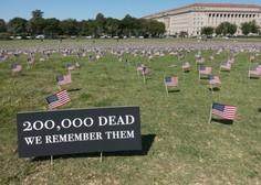 V ZDA število smrtnih žrtev covida-19 preseglo 200.000, število okuženih 6,9 milijona