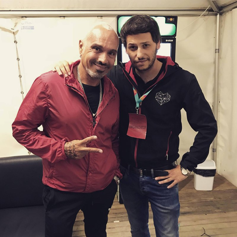 David Morales, ameriški house producent in DJ, v Hočah leta 2018.