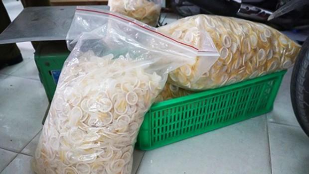 V Vietnamu prijeli skupino prodajalcev že uporabljenih kondomov (foto: Profimedia)