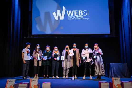 Razglašeni WEBSI Spletni prvaki 2020; med agencijami je slavila Agencija 101, med naročniki pa podjetje A1