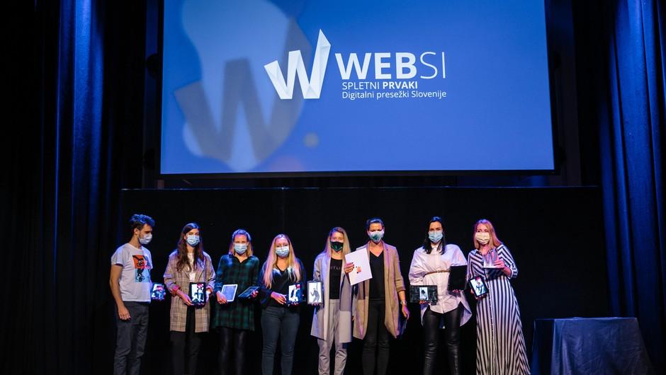 Razglašeni WEBSI Spletni prvaki 2020; med agencijami je slavila Agencija 101, med naročniki pa podjetje A1 (foto: Websi)