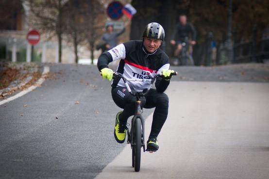 Ne le slovenski Tour de France, dva dni kasneje nov kolesarski rekord tudi v Ljubljani