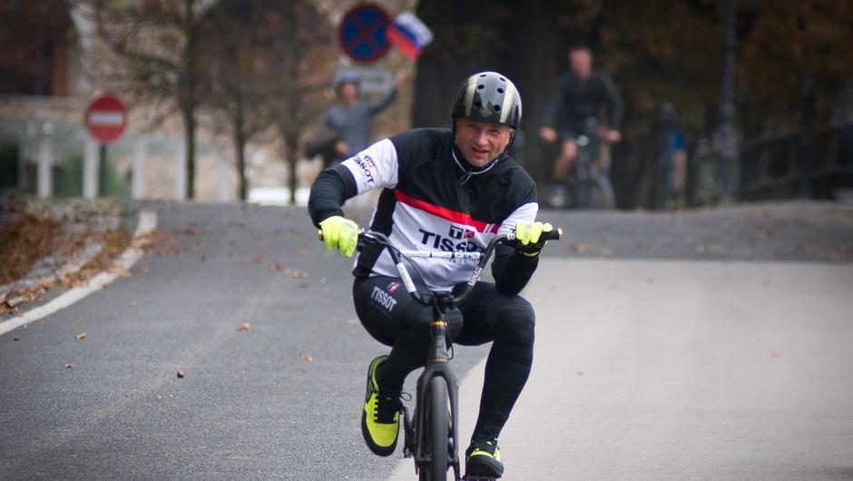 Ne le slovenski Tour de France, dva dni kasneje nov kolesarski rekord tudi v Ljubljani (foto: Bruno Sedevčič)