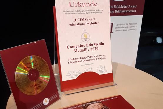 Mednarodno priznanje za interaktivni portal učimse.com