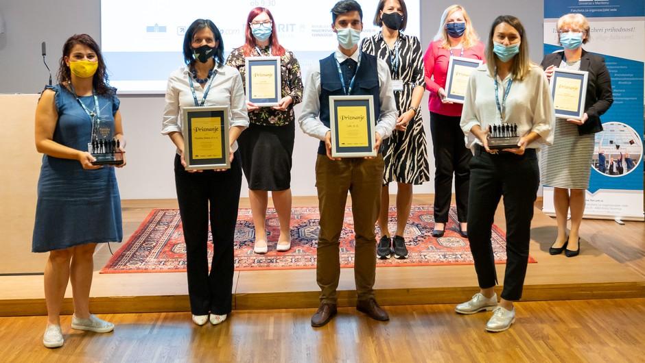 Podelili nagrade za najboljše kadrovske prakse v Sloveniji (foto: Press)