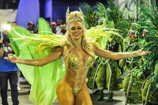Pandemija koronavirusa odnesla sloviti karneval v Riu de Janeiru