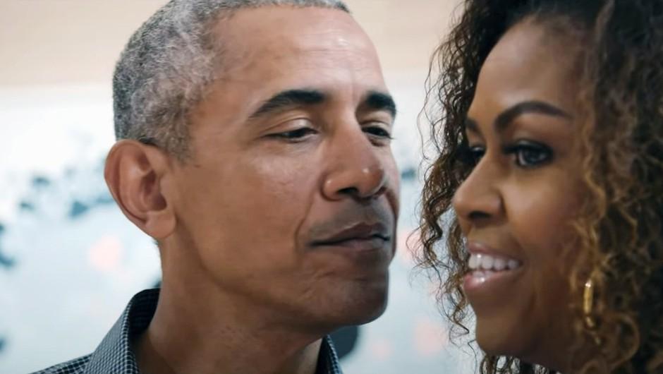 Najbolj občudovana moški in ženska na svetu sta Barack in Michelle Obama (foto: profimedia)